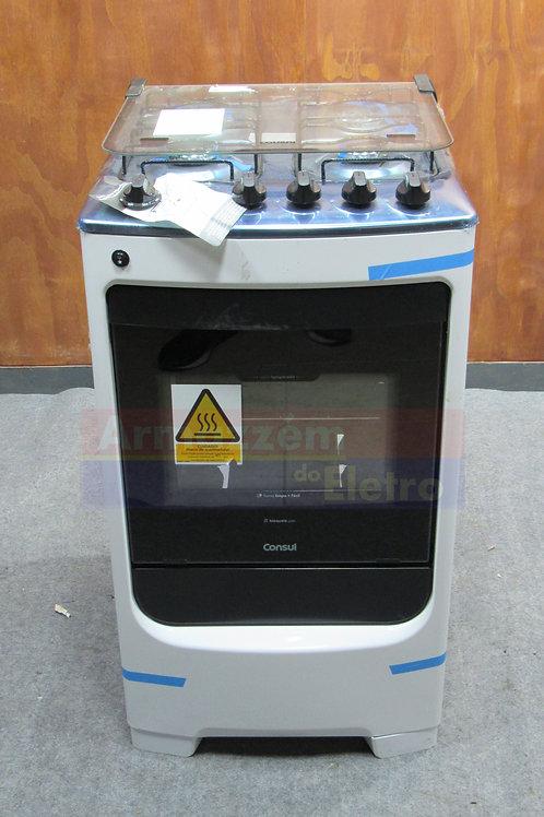 Fogão 4 Bocas Consul Branco Modelo CFO04NAB Acendimento Automático