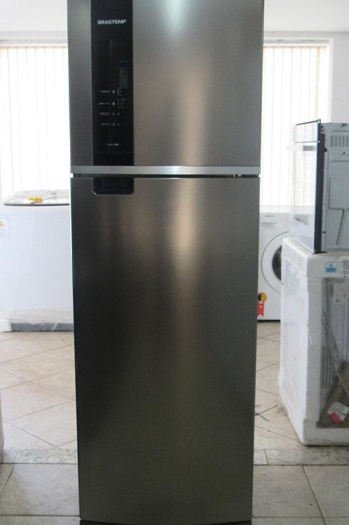 Geladeira Brastemp BRM53HK Frost Free Duplex 400 Litros Inox