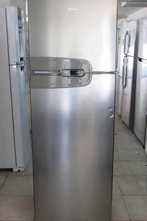 Geladeira Consul CRM43HK Frost Free Duplex 386 Litros Inox