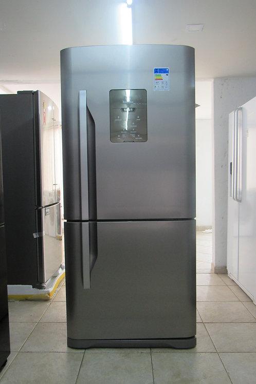 Refrigerador Electrolux DB84X Frost Free Inverse 598 Litros Inox