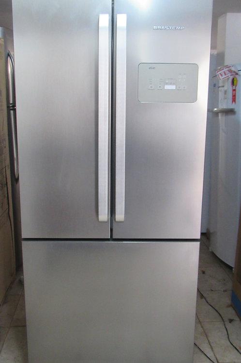 Refrigerador Brastemp Modelo BRO80AK Frenc Door Inverse 540 Litros