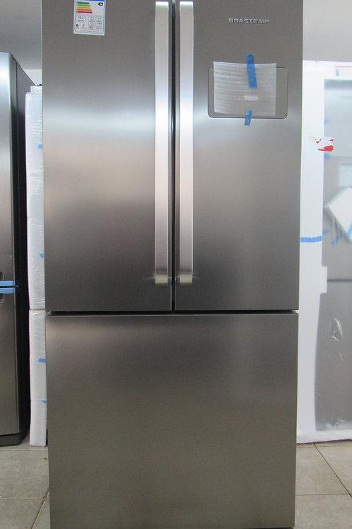 Refrigerador Brastemp BRO80AK Frost Free French Door Inverse 540 Litros Ative!