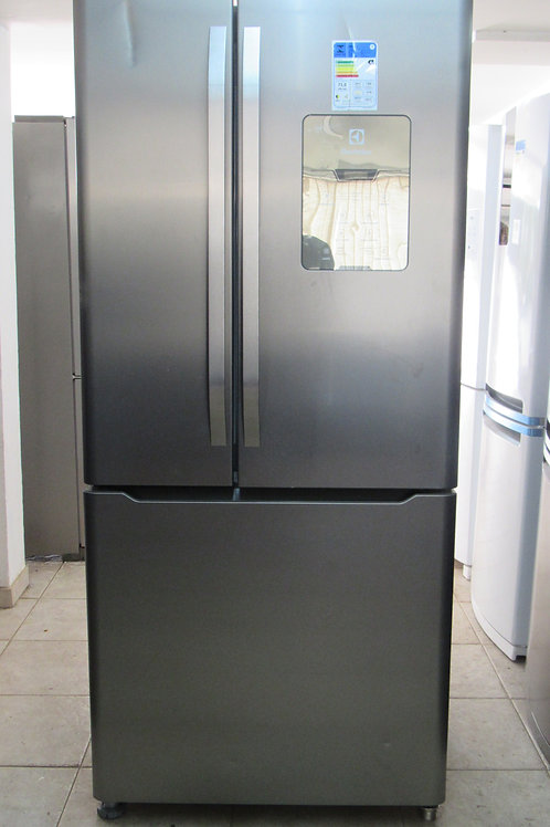 Geladeira Electrolux DM84X Frost Free French Door Inverse 579 Litros Inox