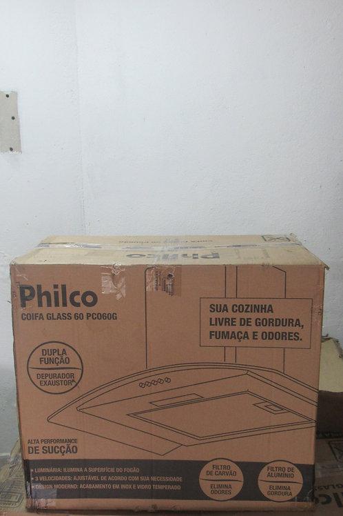 Coifa Parede Philco 60 cm Glass Inox