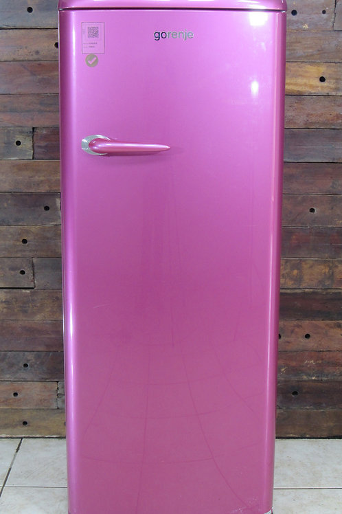 Refrigerador Gorenje Retrô Collection Rasberry Pink RB60298OP 288L