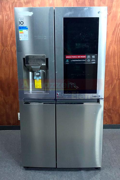 Refrigerador LG Side By Side Door In Door New Lancaster  InstanviewX247CSAV 601L