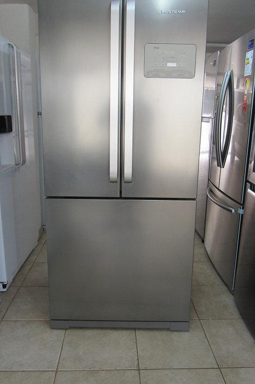 Geladeira Brastemp BRO80AK Frost Free French Door Inverse 540 Litros Inox