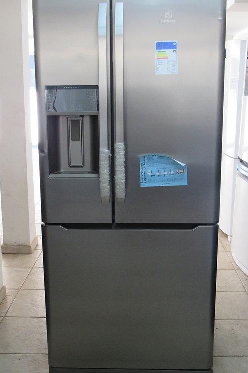 Geladeira Electrolux DM85X Frost Free French Door Inverse 538 Litros Inox