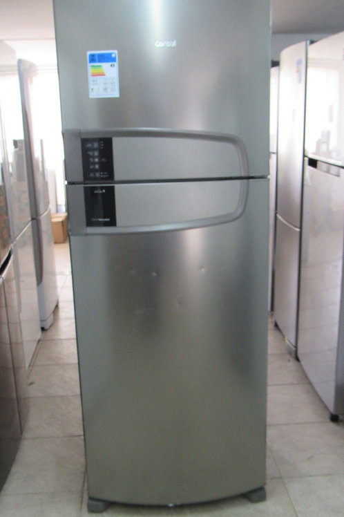 Geladeira Consul CRM55AKANA Frost Free Duplex 437 Litros Inox