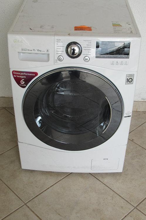 -ºLava e Seca LG 11kg Prime Touch WD11WP6 Água Quente