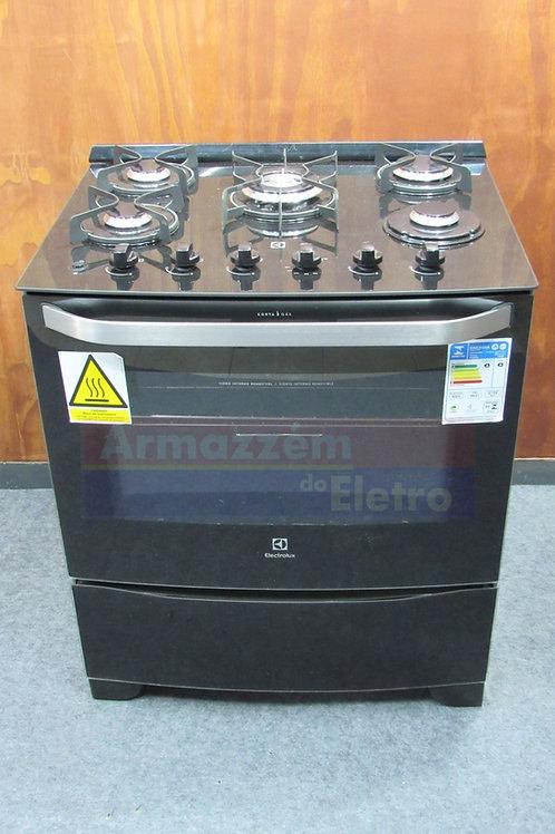 Fogão de Piso Electrolux 5 Bocas Acendimento Automático 76GS