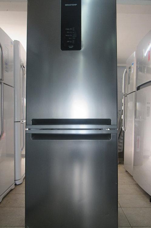 ºGeladeira Brastemp BRE57AK Frost Free Inverse 443 Litros Inox