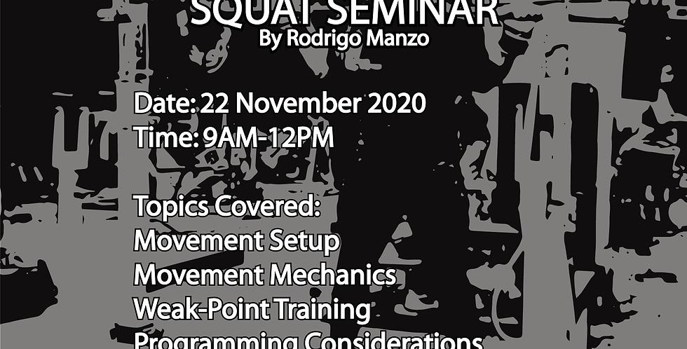 Squat Seminar