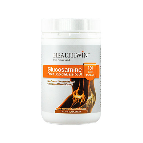 Glucosamine Green Lipped Mussel 5000mg 180 Capsules