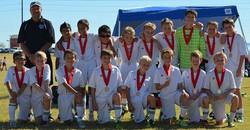 U12B Ahwatukee Foothills Soccer Fest 2013