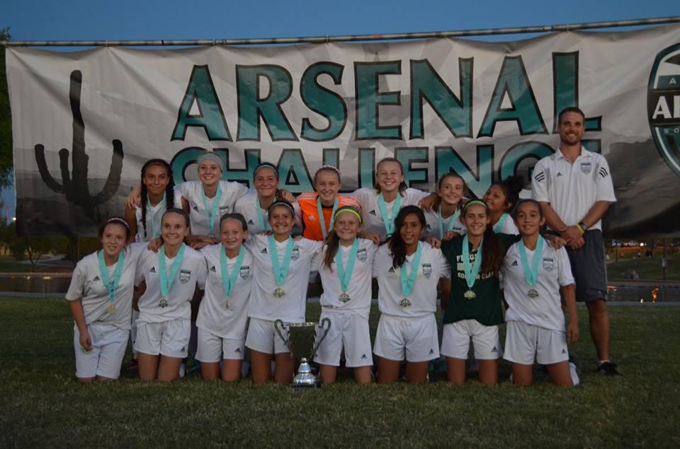 U14G Arsenal Challenge 2015