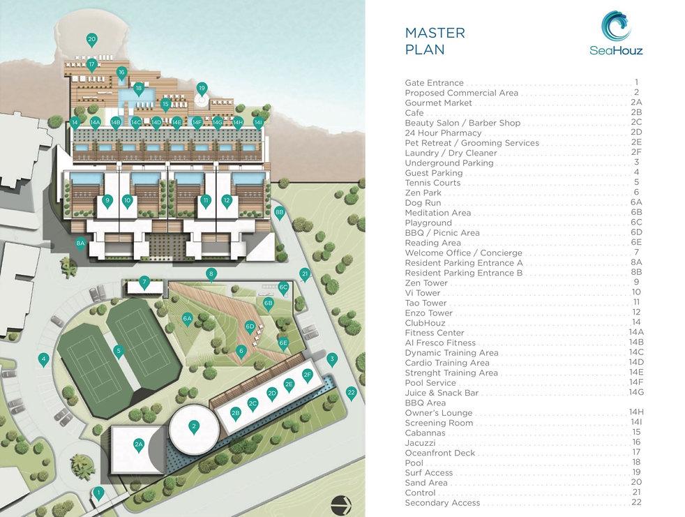masterplan Sea Houz Condos