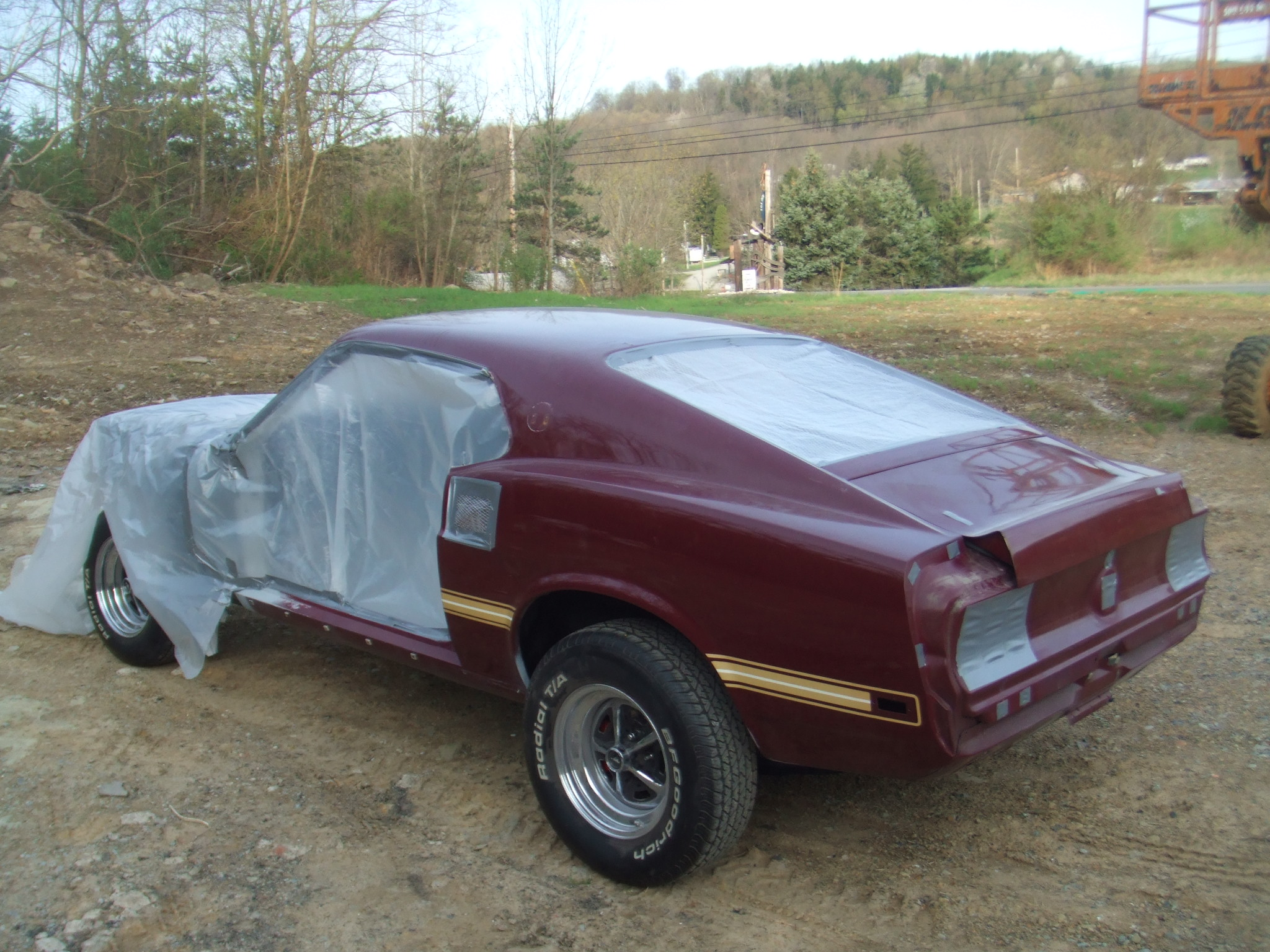 69 Mustang Mach 1 B