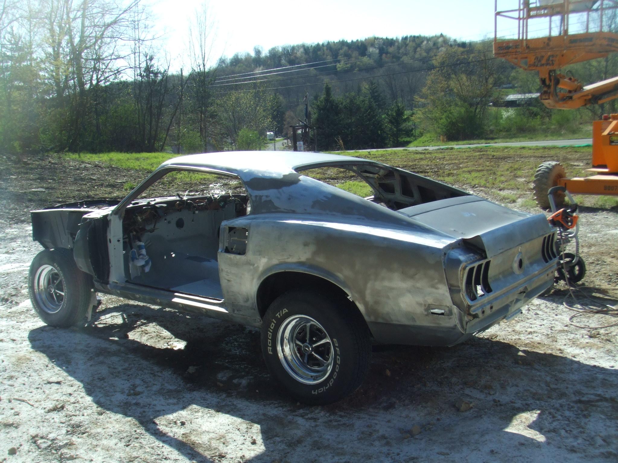 69 Mustang Mach 1 A