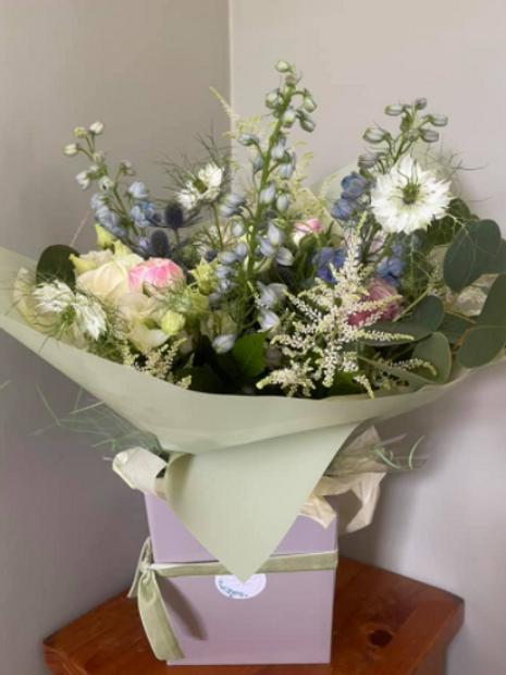 Gift Boxed Seasonal Bouquet
