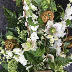 A natural funeral tribute today's bespoke piece