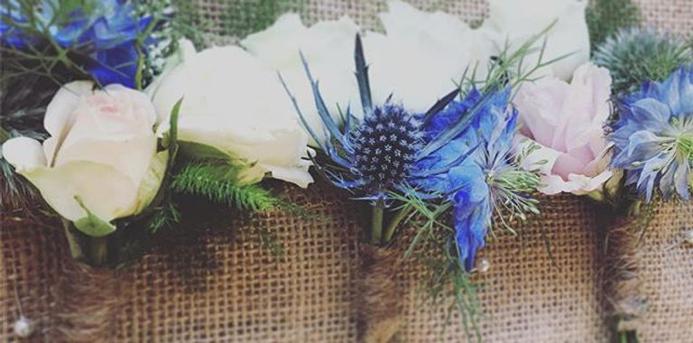 Wedding buttonholes - loved the whole st