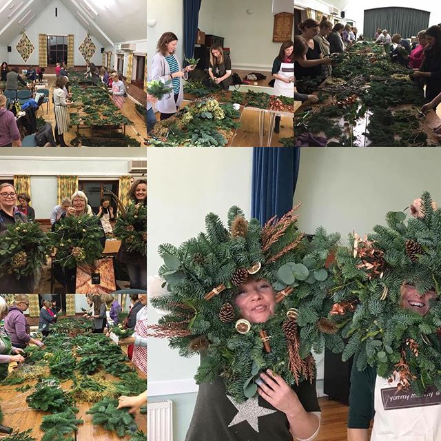 FFF - Festive Friday Fun ,workshops well under way and with tomorrows workshop for the RHS  that wil