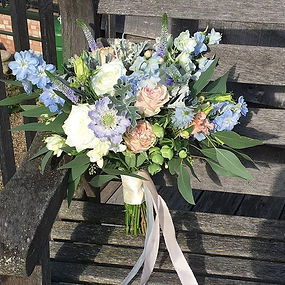 Wedding bouquet bliss -I have been bless