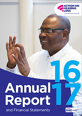 Action on Hearing Loss's 2016–17 Annual Report