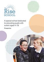 Ambitious about Autism The Rise School prospectus