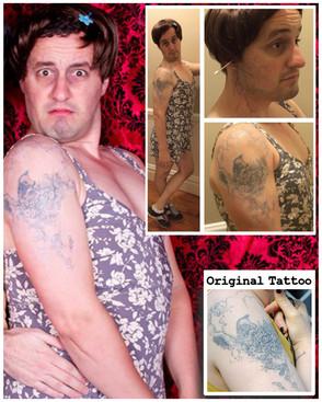 Lena Dunham Tattoo Recreation and Application