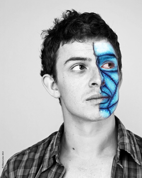 Nerves of Steel Face Paint
