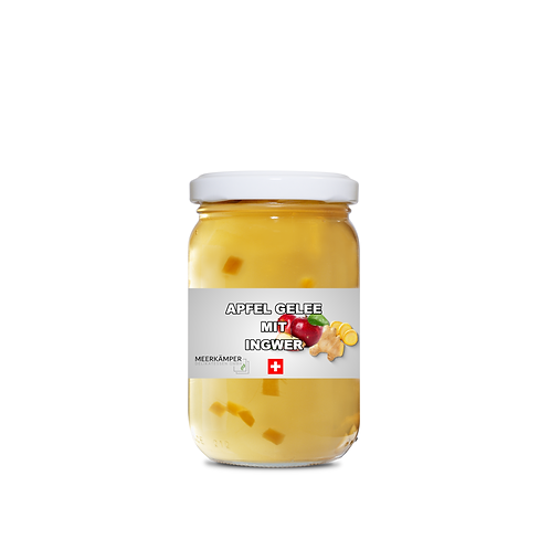 Apfel Gelee mit Ingwer - 250 G.