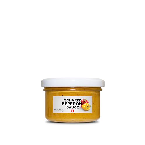 Scharfe Peperoni Sauce - 120 ML.