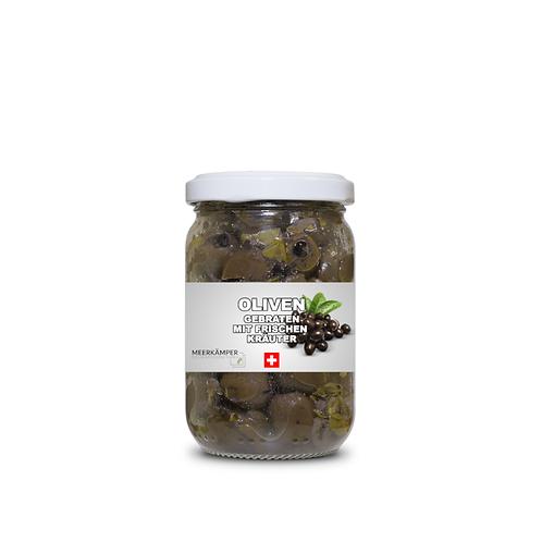 Oliven gebraten - 170 ML.