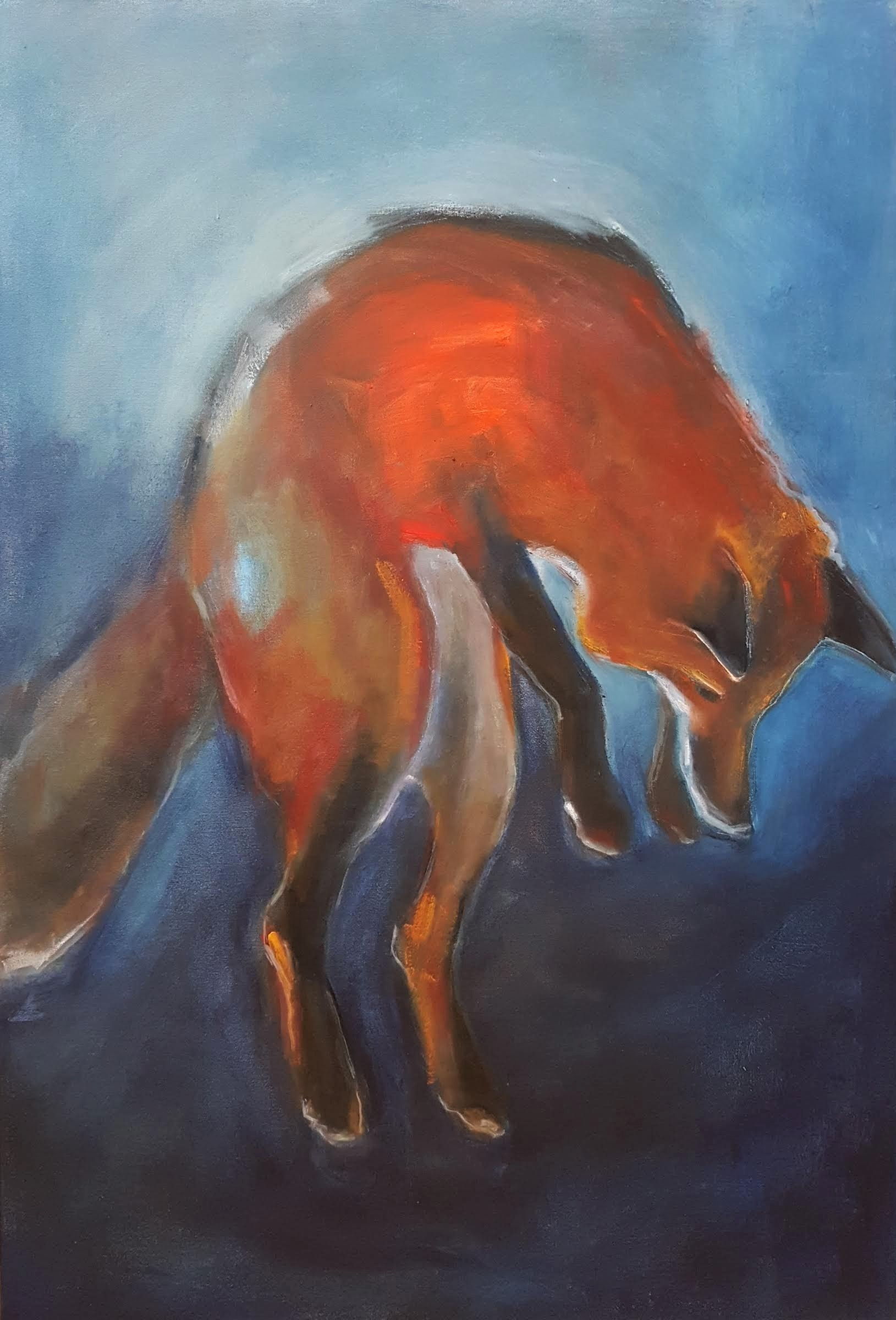 "36""x24"" - oil on canvas"