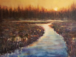 "36"" x 48"" - oil on canvas"