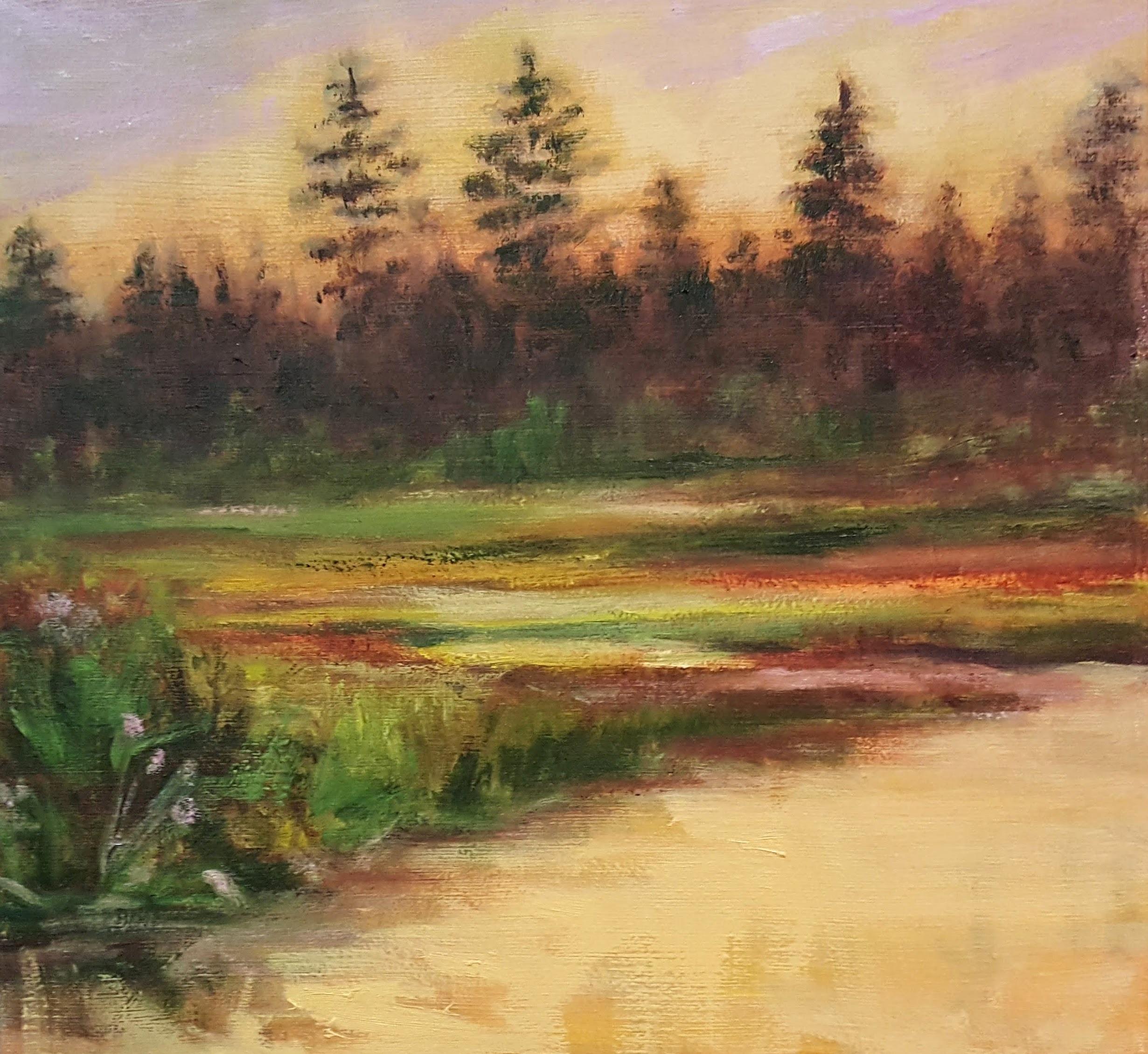 "10"" x 10"" - oil on canvas"