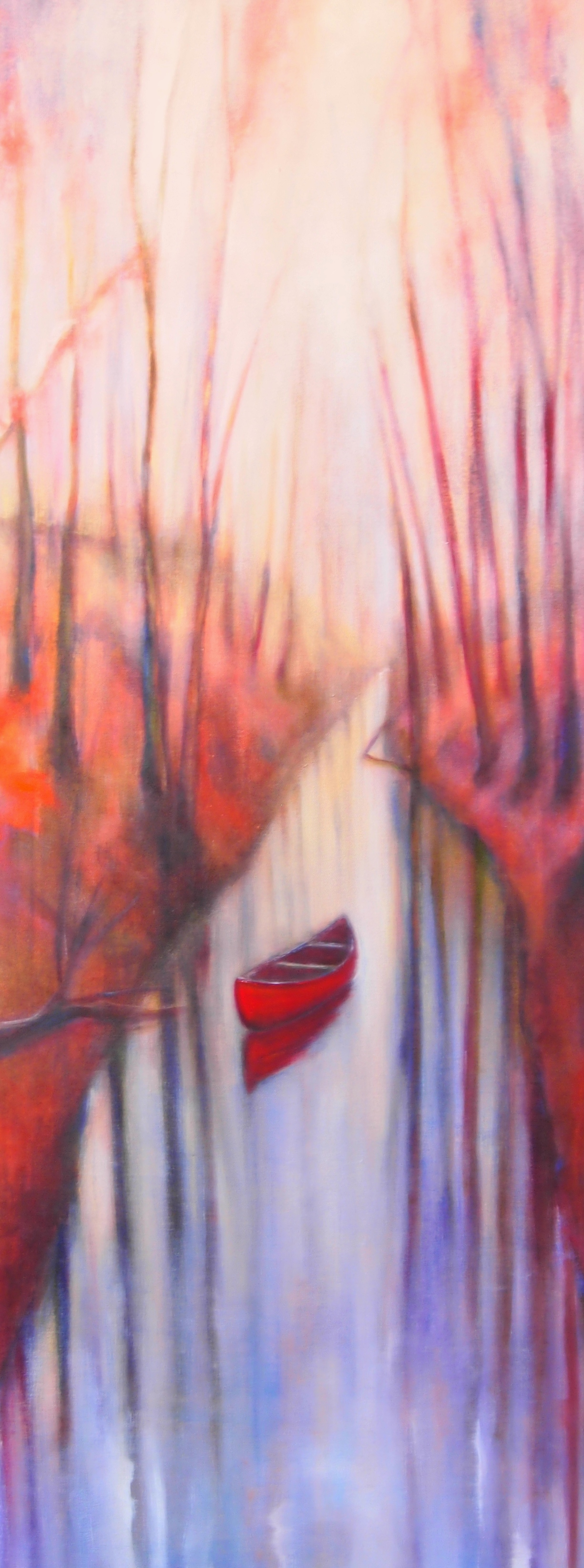 "16""x60"" - oil on canvas"