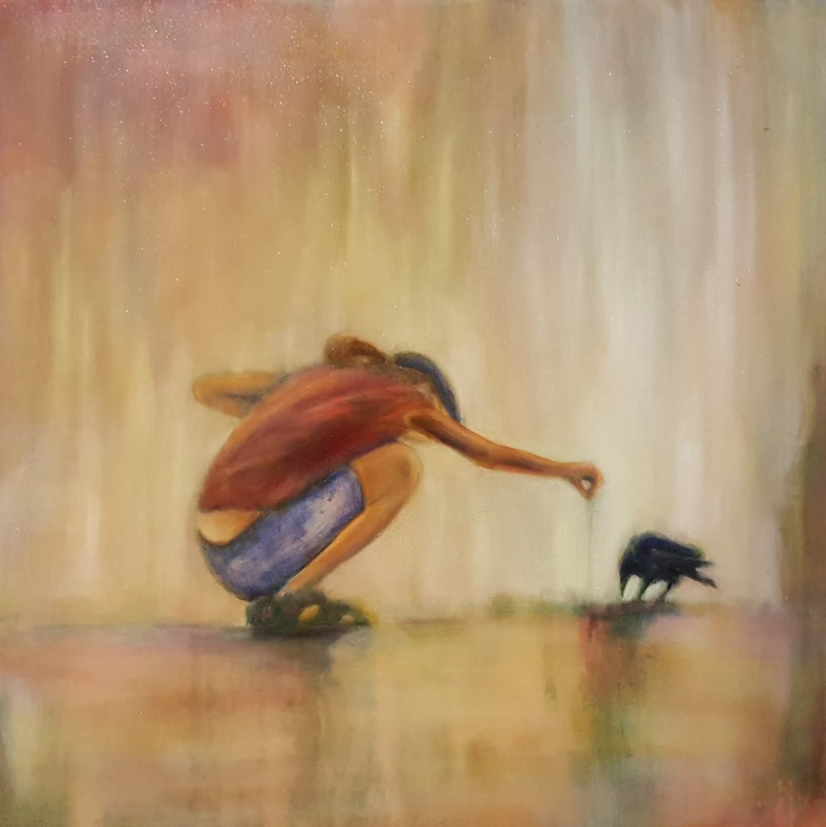 "24""x24"", oil on canvas"