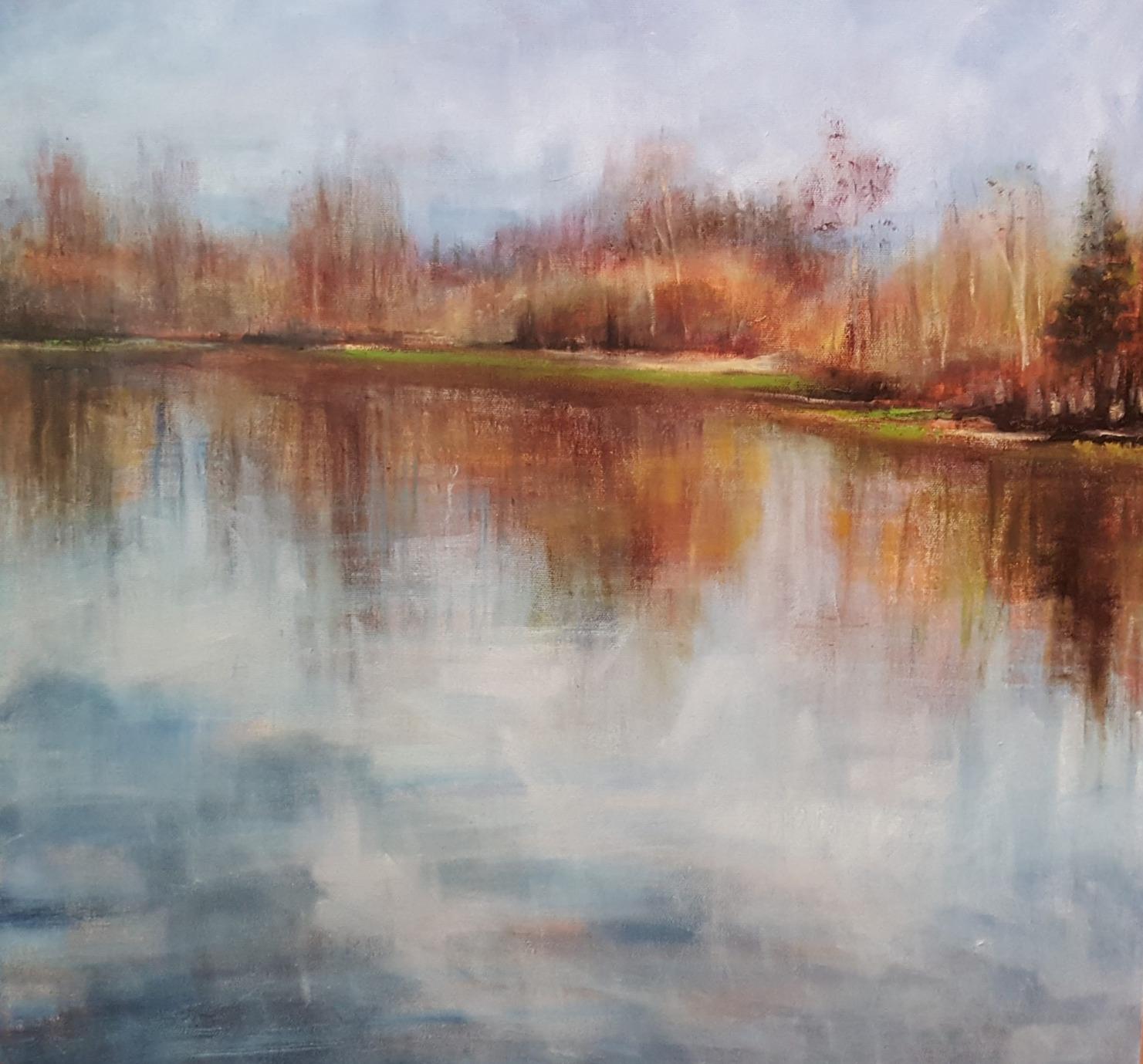 "20"" x 20"" - oil on canvas"