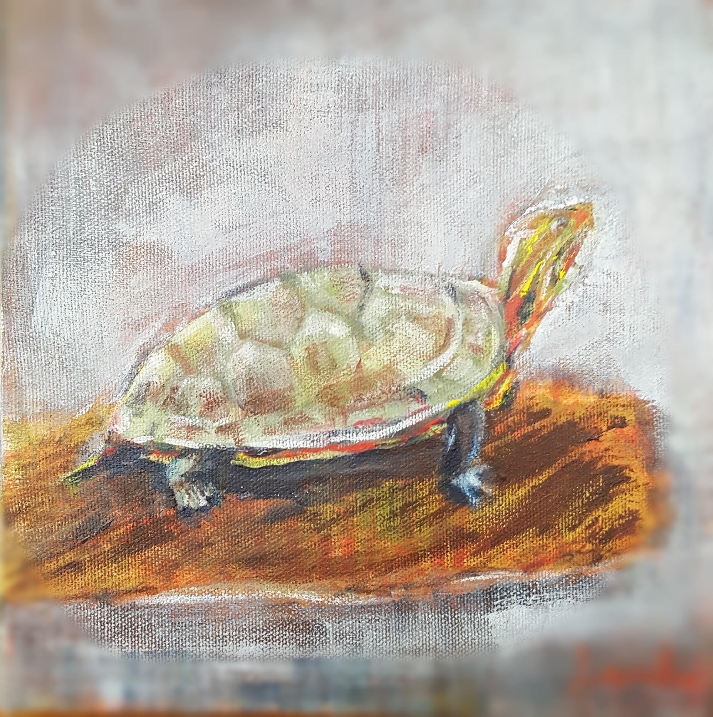 "8"" X 8"" - oil on canvas"
