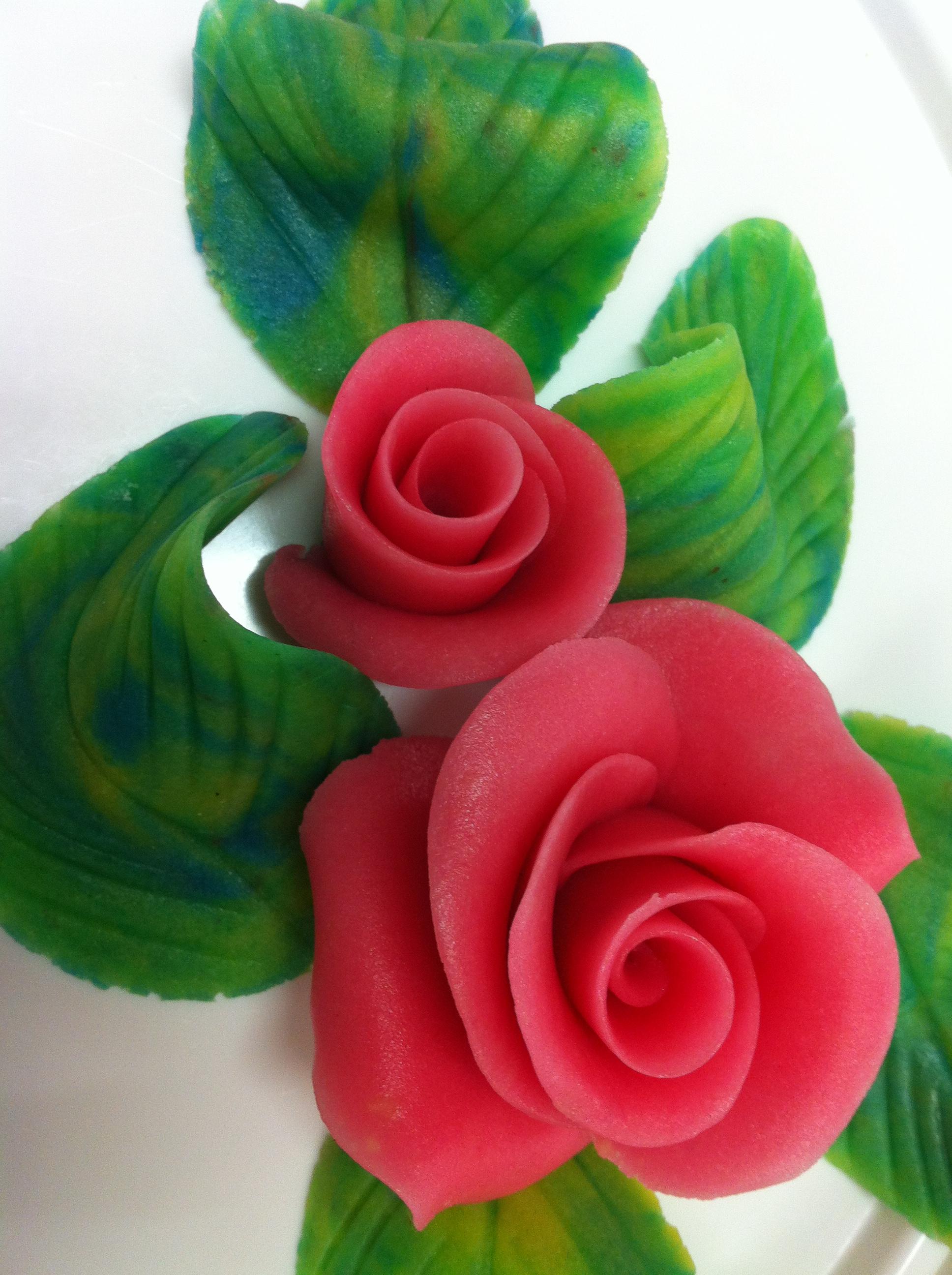 décor roses