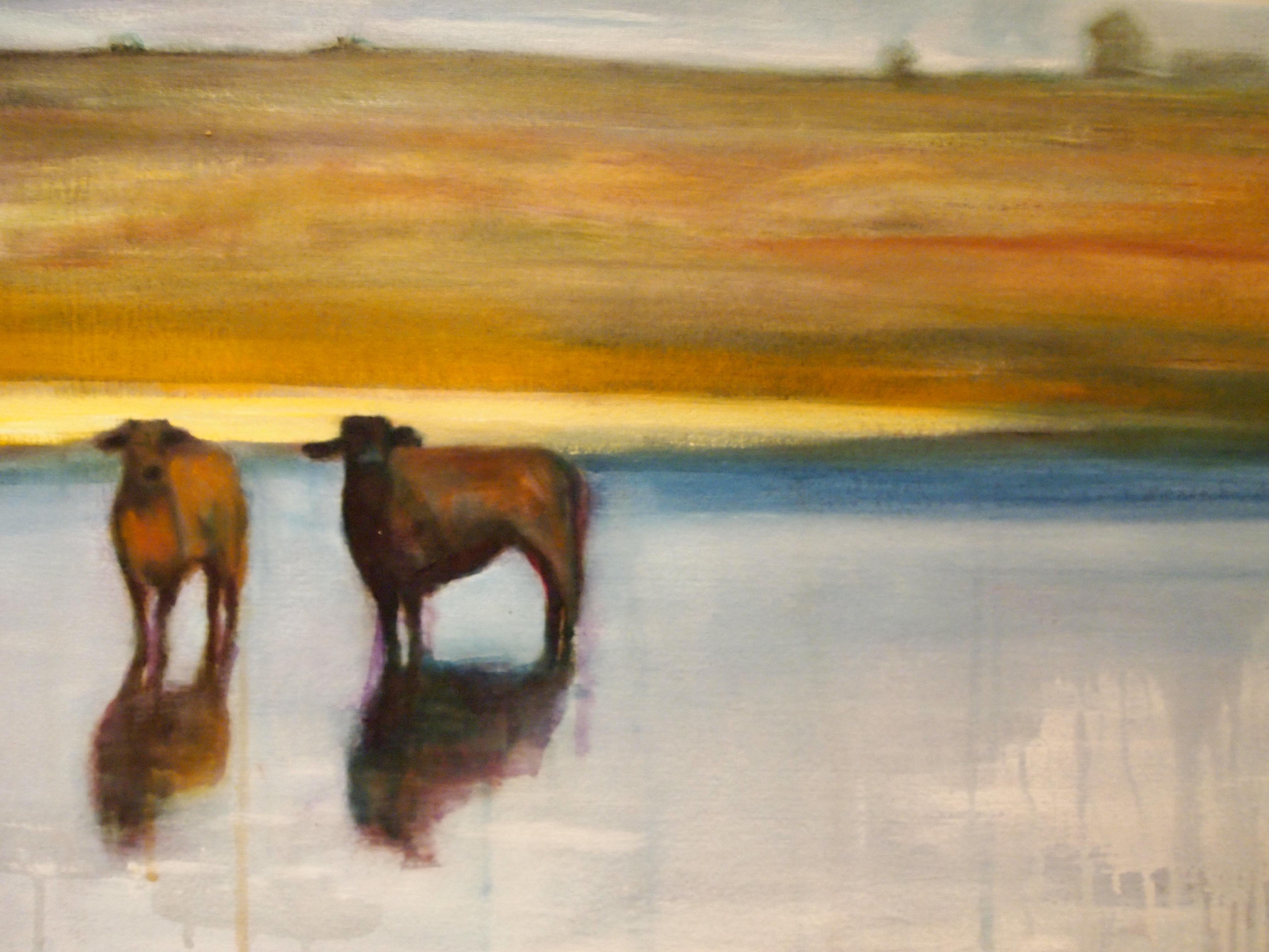 "22""x28"", oil on canvas"