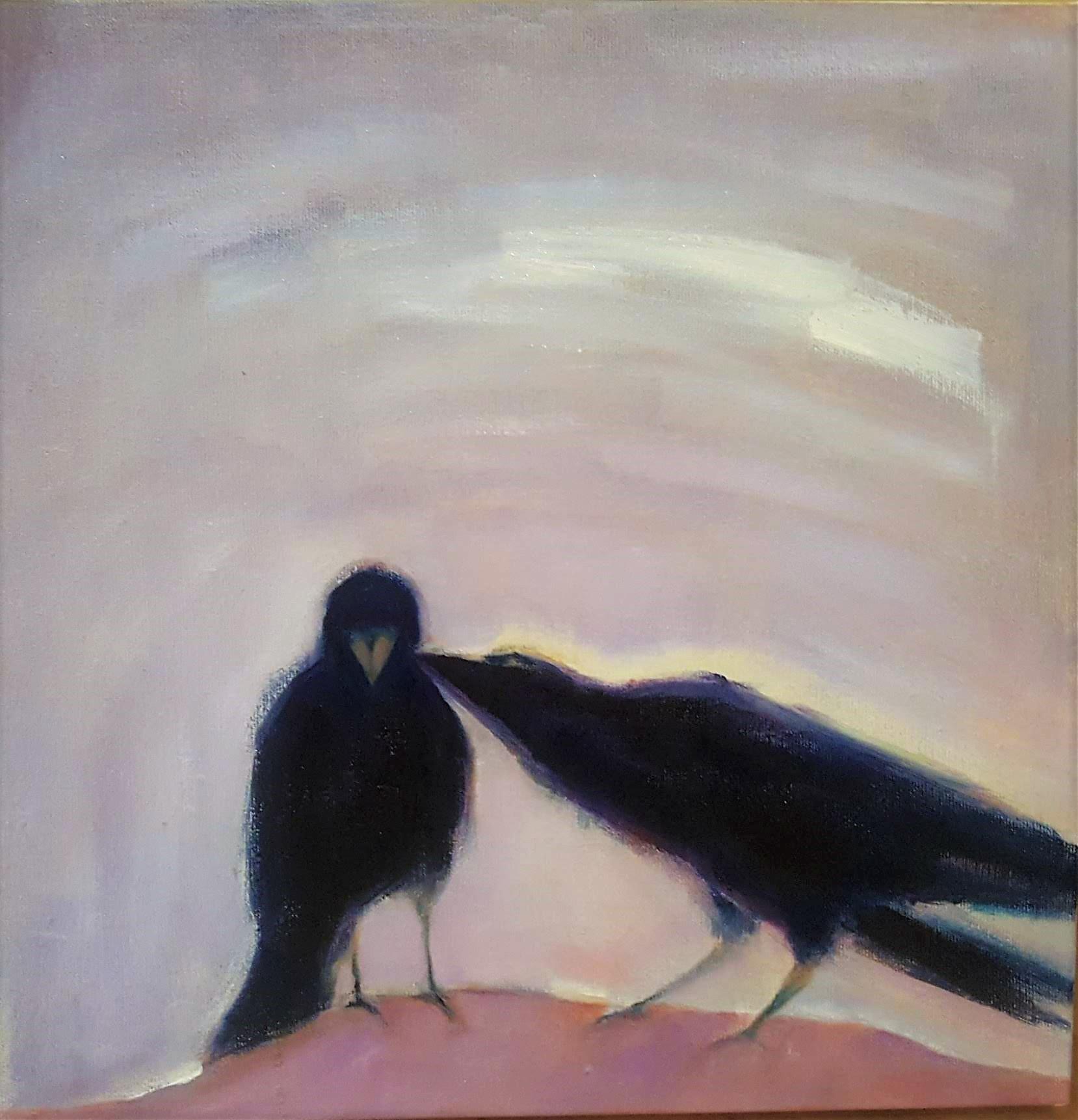 "10""x10"", oil on canvas"