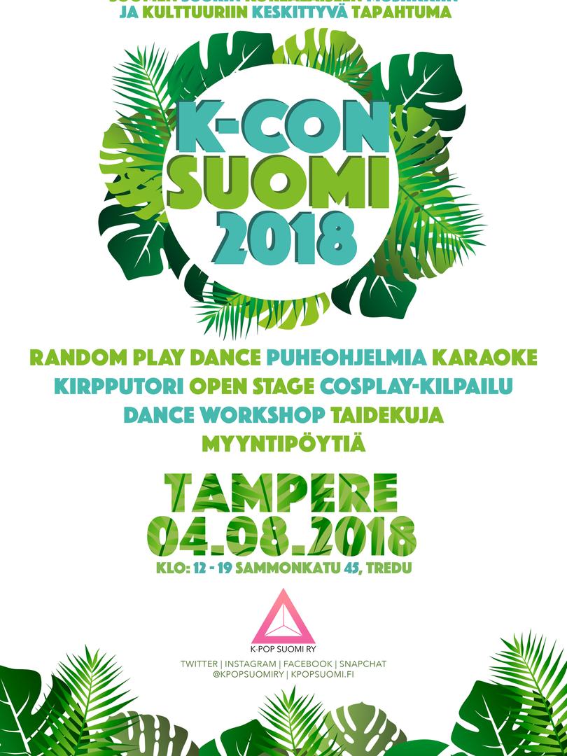 K-CON SUOMI 2018