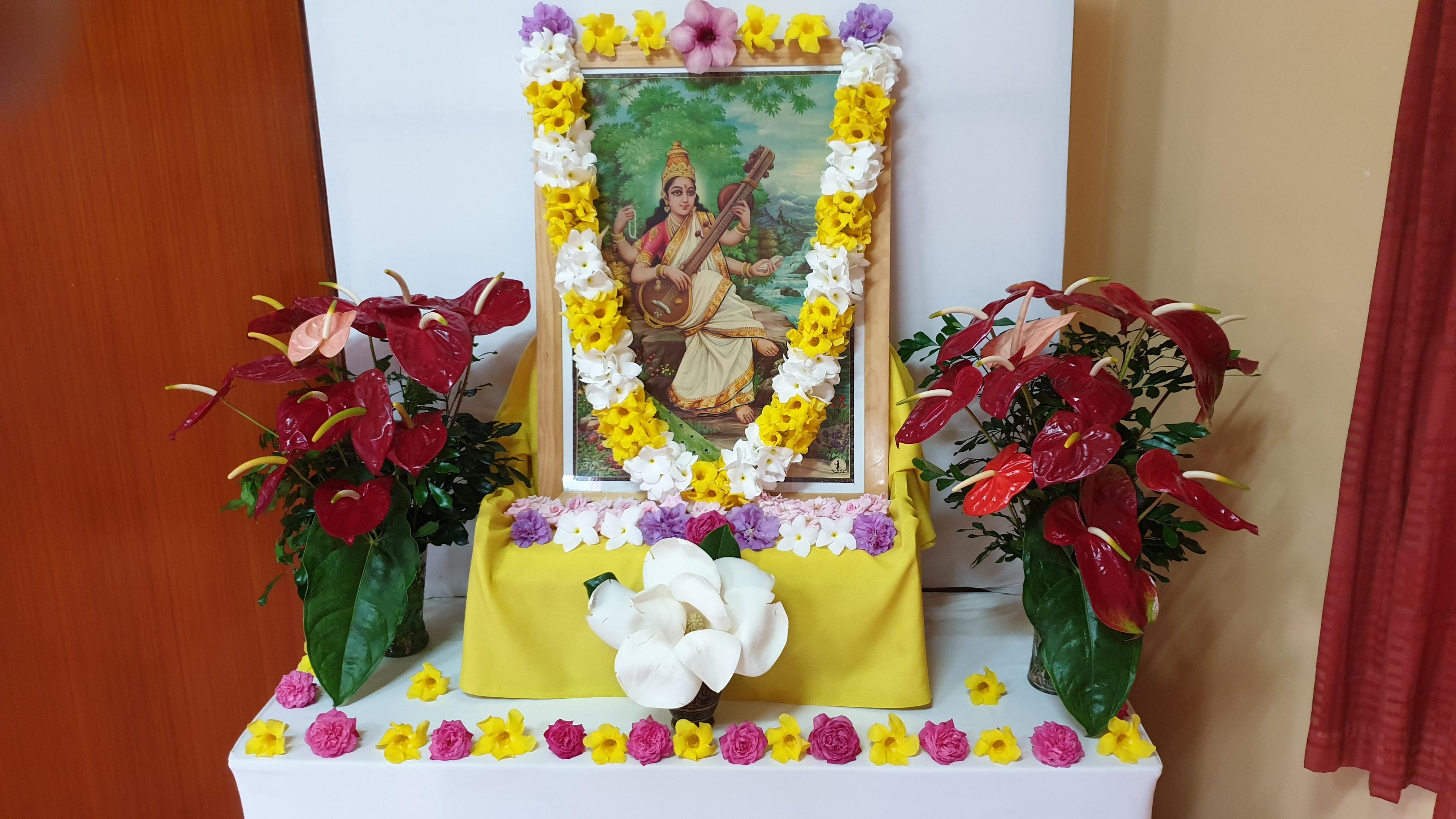 Saraswati puja 2020