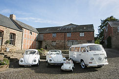 Wedding VW's at Lyde Arundel