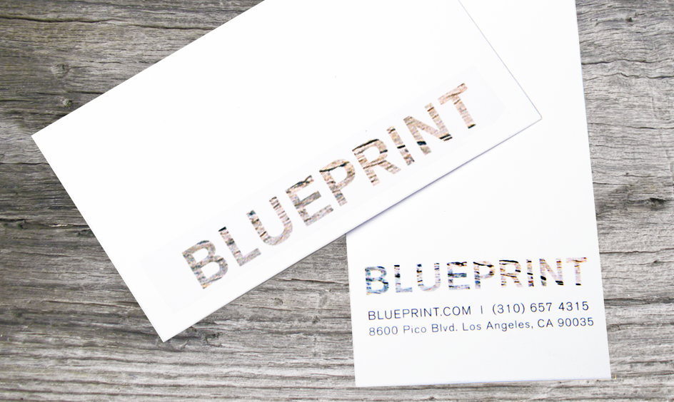 Sarah schwartz l digital art director blueprint furniture store in los angeles called blueprint i wanted their brand to stand out by incorporating simple and clean typography and design with textures malvernweather Images