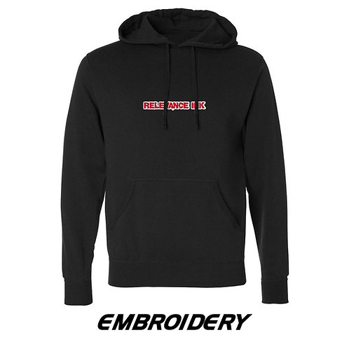 Custom Black Hoodie (1 Placement) - Embroidery